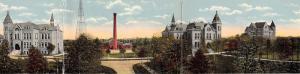 Madison South Dakota~State Normal School (University)~1914 TRIPLE ATTACHED PC