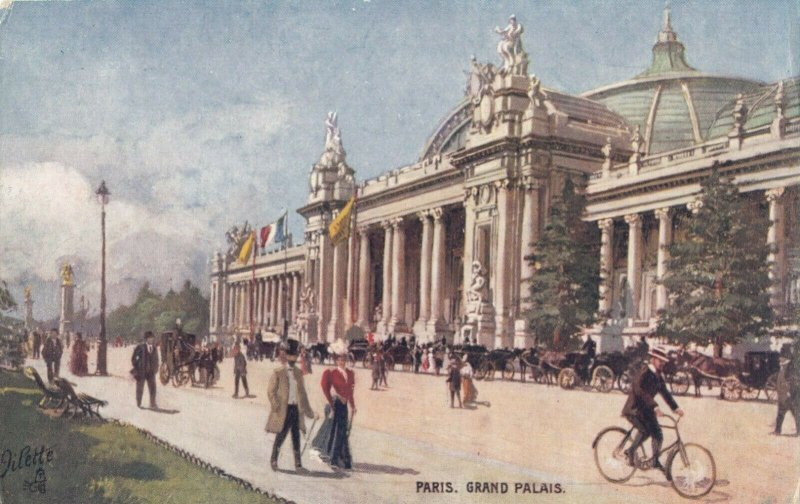 PARIS, France, 1900-10s ; Grand Palais ; TUCK