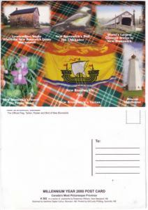 Millennium Collage, Lighthouse, Flag, Tartan, Bridge, New Brunswick, Oversize...