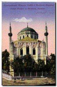 Old Postcard Constantinople Mosque Vative A Gerai Stambouf Turkey