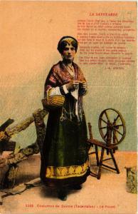 CPA Folklore - Costumes de Savoie - Tarentaise - Le Rouet (699174)