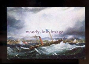 FE2912 - Isle of Man Paddle Steamer -  Mona's Isle , built 1830 - postcard