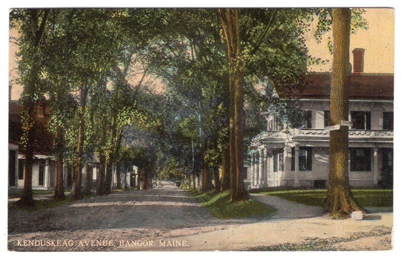 Bangor, Maine, Kenduskeag Avenue