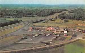 Port Huron ON Aerial View of Scott's Kentucky Fried Chicken~1950s Buschlen