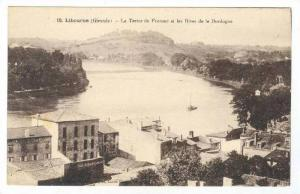 Le Tertre De Fronsac Et Les Rives De La Dordogne, Libourne (Gironde), France,...