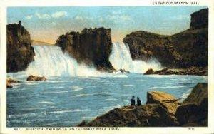 Twin Falls on Snake River - Idaho ID