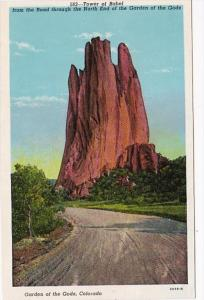 Colorado Tower Of Babel In Garden Of The Gods