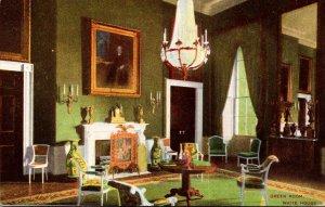 Washington D C White House Green Room