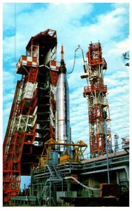 Kennedy Space Center, Atlas Mercury readied for Launch