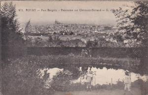 France Royat Parc Bargoin Panorama sur Clermont-Ferrand