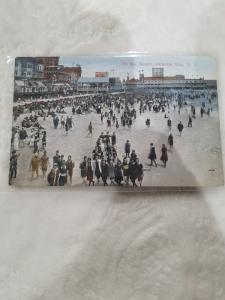 Antique Postcard Atlantic City, On the Beach, Atlantic City, N.J.