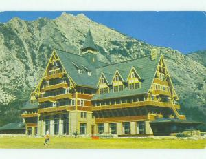 Pre-1980 PRINCE OF WALES HOTEL Waterton Lakes National Park ALBERTA HQ1442