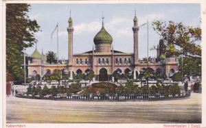 Koncertsalen i Tivoli, Kobenhavn, Copenhagen, Denmark, 1900-10s