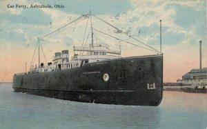 ASHTABULA , Ohio , 1915 ; Car Ferry