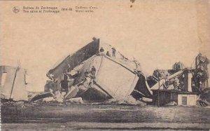 Belgium Ruines de Zeebrugge 1914-18 Chateau d'eau
