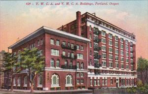 Oregon Portland Y W C A & Y M C A Buildings