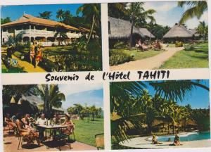TAHITI, 50-70s; 4-Views , Swimming Pool, Souvenir de l'Hotel Tahiti