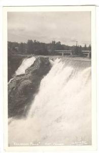 RP,View showing Kakabeka Falls,Ontario,Canada,PU-20-40s