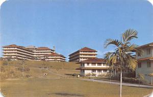 Panama Old Vintage Antique Post Card Fort Clayton Hospital Fort Claython Unused
