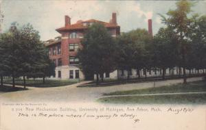 ANN ARBOR, Michigan, PU-1907; New Mechanical Building, University of Michigan