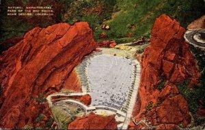 Colorado Denver Natural Amphitheatre Park Of The Red Rocks