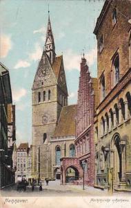 Marktkirche u Rathaus, Hannover, Germany, PU-1910