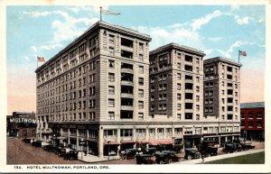 Oregon Portland Hotel Multnomah Curteich