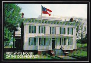 First White House Of The Confederacy 1840 Montgomery Alabama
