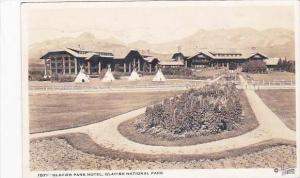 Montana Glacier Park Hotel 1935 Real Photo RPPC