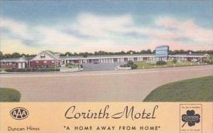 Mississippi Corinth Corinth Motel 1956