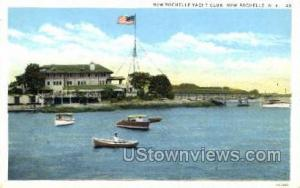Rochelle Yacht Club New Rochelle NY Unused