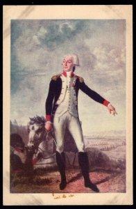 Portrait of The MARQUIS DE LAFAYETTE in The Mount Vernon Mansion G. Washington