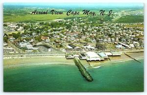 Postcard NJ Cape May Airview of Cape May D18
