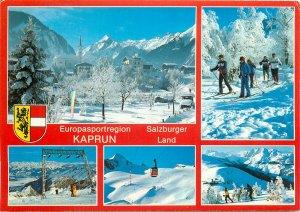 Austria Postcard Salzburg winter resorts 3204m