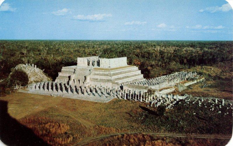 Mexico - Yucatan, Chichen Itza. Temple of the Warriors