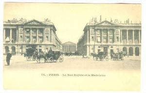 La Rue Royale Et La Madeleine, Paris, France, 1900-1910s
