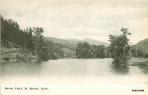 C-1910 Mount Baldy St Marie's Idaho Inland postcard 8942