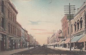 CALGARY , Alberta, Canada, 1909 ; Eighth Avenue, Looking West