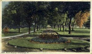 Burril Ave.  Champaign IL 1921