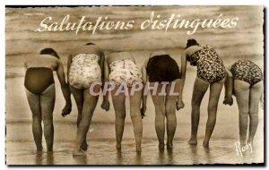 Old Postcard Greetings distinguished women