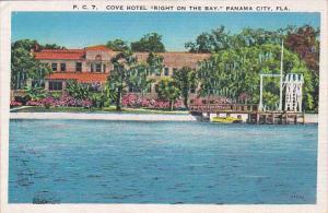 Florida Panama City Cove Hotel Right On The Bay 1936