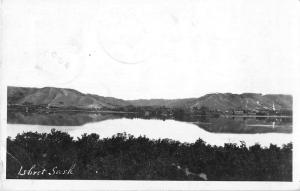 Lebret Saskatchewan Canada Scenic View Real Photo Antique Postcard J49408