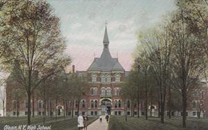 OLEAN, New York, 00-10s; High School