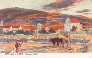 Cana of Galilee, The Holy Land, Palestine, Early Tuck's Postcard, Unused