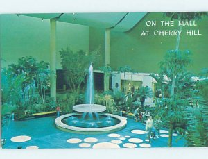 Pre-1980 FOUNTAIN AT THE SHOPPING CENTER Cherry Hill - Near Camden NJ AF2840