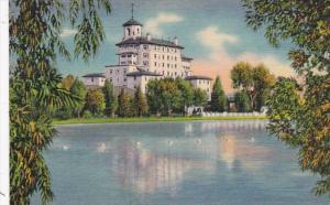 Colorado Pikes Peak Region Vista Of Broadmoor Hotel From The Lake Curteich