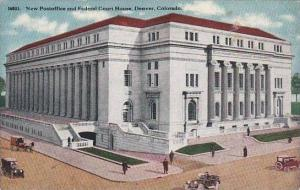 Colorado Denver New Postoffice And Federal Court House