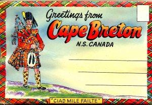 Folder - Canada, Cape Breton, NS. (13 views)  *Crease & water damage