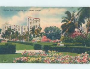 Unused Linen PARK SCENE Miami Florida FL H2335