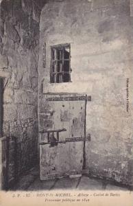 MONT-St.-MICHEL, Abbaye, Cachot de Barbes, Prisonnier politique en 1842, Haut...